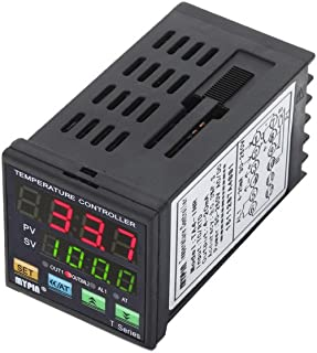 Tykeed Digital LED PID Temperature Controller INR 1 Alarm Relay 4-20mA Analog Quty Output TC/RTD