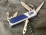 AITOR 16000-G. Navaja Multiusos Modelo Gran Montañero Gris. Hoja de Acero INOX. 6 Funciones. Hoja 8 cm