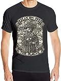 Photo de P-Lag-UE Doctor Casual Fashion Men's T Shirt Quick Drying Clothes,Black,Large par