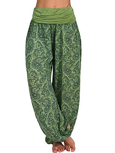Women Harem Pants Floral Hippie Baggy Yoga Pants Boho Comfy Loose Trousers Bohemian Beach...