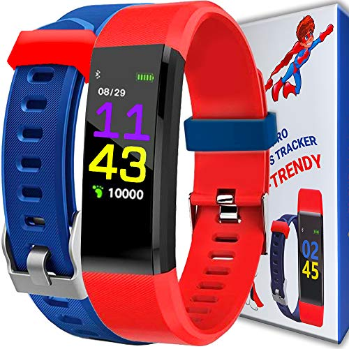 Product Image of the Kids Fitness Tracker for Kids Activity Tracker - Smart Watch for Boys Girls...