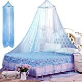 Mosquitera princesa, BETOY Mosquitera para cama, Mosquitera de encaje, Dosel para niños, Mosquiteras para Camas, Mosquitera de Fácil Instalación, Protección antimosquitos