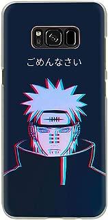Anime Naruto Akatsuki Design Hard Phone Case for Samsung Galaxy S8 S9 S10 Plus S10e Note 8 9 (4, S9)