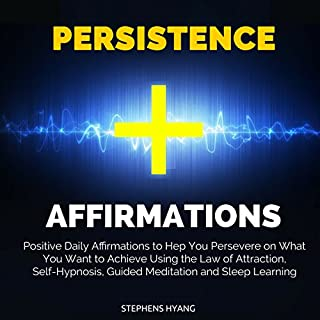 Persistence Affirmations audiobook cover art