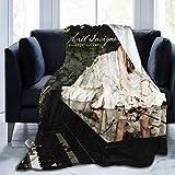 Avril Lavigne Goodbye Lullaby Blanket Throw Size Ultra...