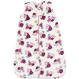 Hudson Baby Unisex Baby Plush Sleeping Bag, Sack, Blanket, Floral, 0-6 Months