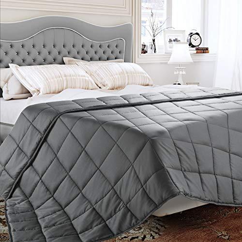 BedStory Manta Ponderada 100% Algodón Natural Manta