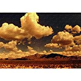 Panorama De Las Montañas Del Desierto Puzzles 500/1000/1500/2000/3000 Piezas, Rompecabezas Clásicos De Madera, Juguetes Educativos Para Adultos Y Niños, Regalos Creat(Size:500 pieces,Color:Partitions)