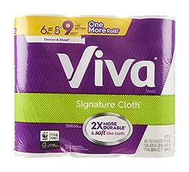 Viva,  Paper Towels,  6 Big Rolls