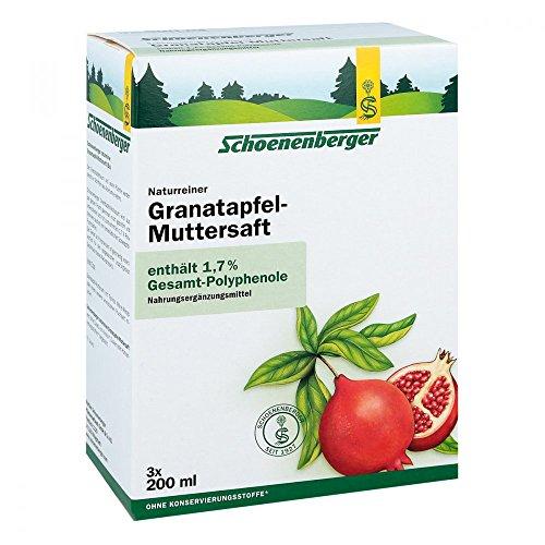 Schoenenberger Naturreiner Granatapfel-Muttersaft, 600 ml Lösung