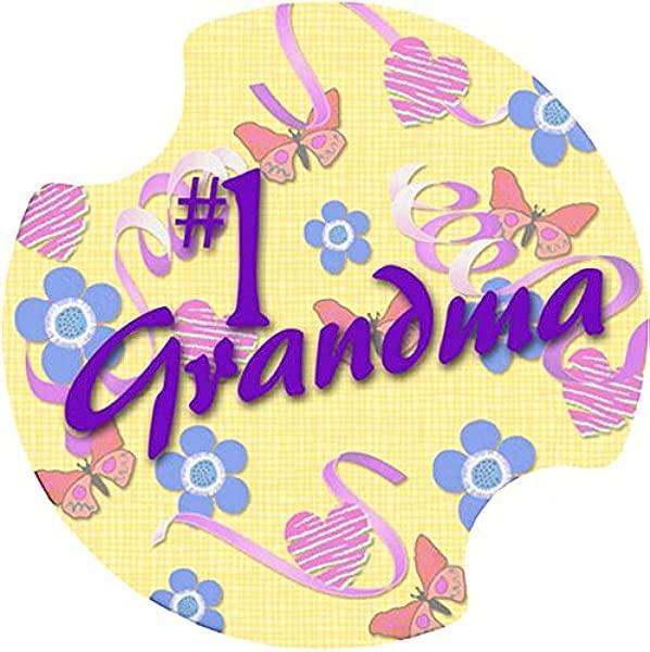 Thirstystone 1 Grandma Car Cup Holder Coaster 2 Pack