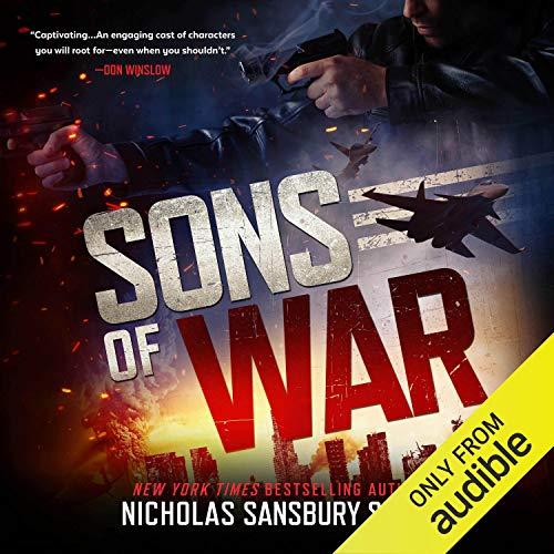 Sons of War audiobook cover art