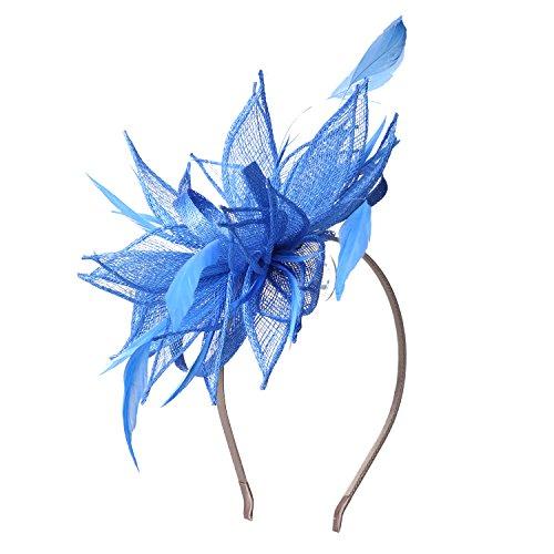 Sedancasesa Sinamay - Tocado para la cabeza, para cóctel, boda, cóctel, fiesta, derby, tocado para la cabeza, carreras, sombreros Royal Ascot