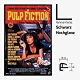 Kunstdruck Poster - Pulp Fiction Uma Thurman Samuel L
