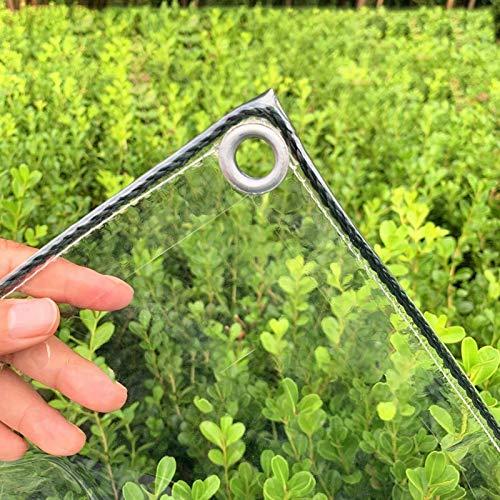 MDELRuldeⓘ Lona Transparente para Jardín Impermeable Anti Congelación Película A Prueba De...