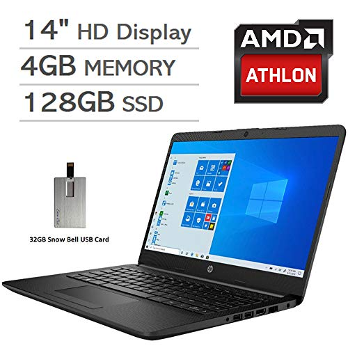 2020 HP Pavilion 14' HD Display Laptop Computer, AMD Athlon...