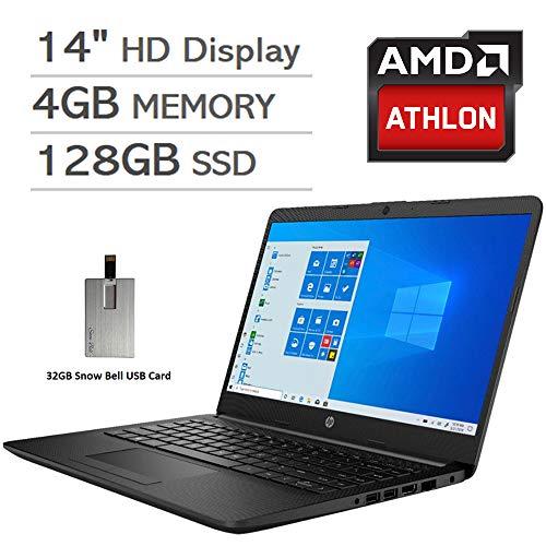 2020 HP Pavilion 14' HD Display Laptop Computer, AMD...