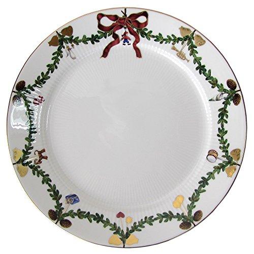 Royal Copenhagen Star Fluted/Xmas Plate Flat 27 cm Porcelain Multi-Coloured