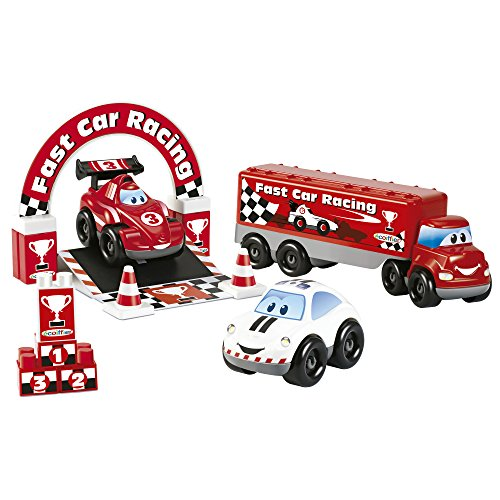 Écoiffier - 3253 - Truck Fast Car F1
