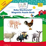 Baby MacDonald Magnetic Puzzle Book [With 8 Magnetic Pieces] (Baby Einstein)