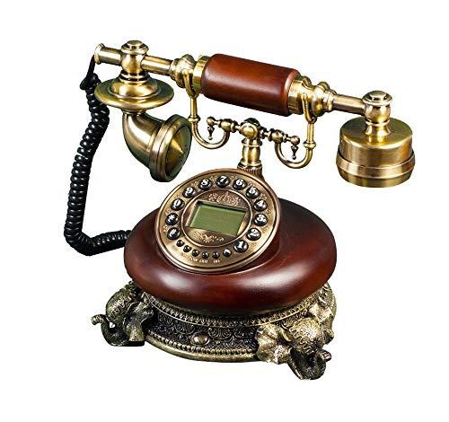 YUBIN Teléfono Teléfono de chasis de Elefante/teléfono Retro/teléfono Fijo teléfono Fijo/eléctrico