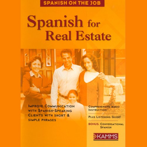 Spanish for Real Estate audiobook cover art