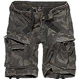 Brandit Vintage Shorts Basic Pantalones Cortos, Dunkles Camouflage, M para Hombre