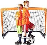 Suny Smiling Suny Smiling Cage de Football pour Enfants, Pliable, Filet de Football - 4'x3'