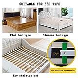 Bett Haltegriff, Sicherheit Edelstahl-Bettgitter, Stabilität Hilfe, for Senioren, Behinderte, Zusammenklappbaren Bett Haltegriff Schutzgeländer (Size : 90cm) - 7