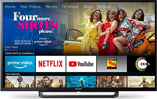 Sony Bravia 80 cm (32 inches) HD Ready LED TV KLV-32R302G (Black) | With Amazon Fire Stick at Zero Cost