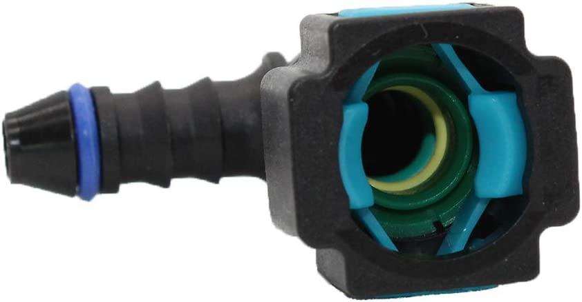 180 group Fuel Line Quick Connector for 5//16 Steel to 1//4 ID 5//16 OD PA 12 Tubing