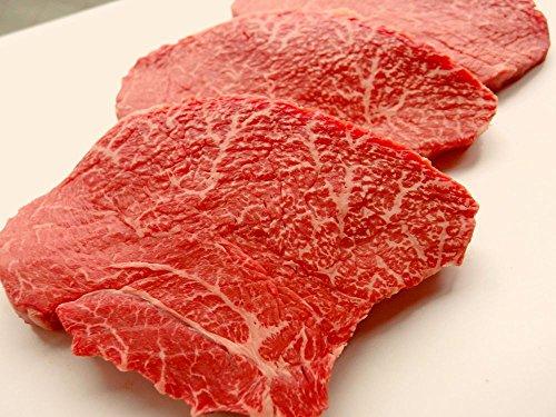 厳選 【 黒毛和牛 雌牛 限定 】 ランプ 赤身 ステーキ 180g 4枚