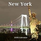 New York 2022 Calendar: 2022-2023 Calendar, Office Calendar, 18 Months.