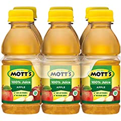 One 6-pack of 8 fluid ounce bottles 100% apple juice 2 servings of fruit in each bottle 8 fl oz bottle* No added sugar and an excellent source of vitamin C