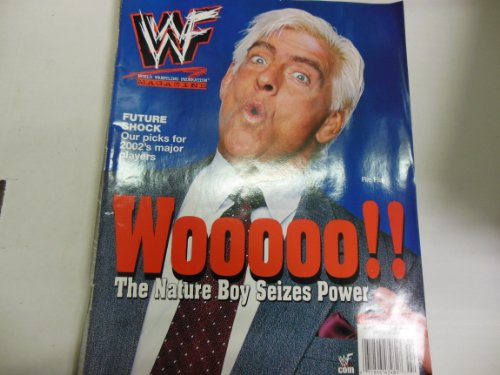 WWF Magazine Ric Flair Wooo!! the Nature Boy Seizes Power 2002