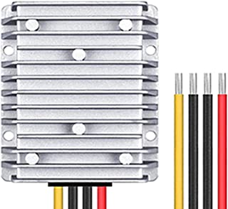Voltage Converter Regulator DC/DC DC12V (9-13V) Step-Up to DC 13.8V 12A 165W Buck Transformer Waterproof
