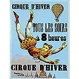 Wee Blue Coo Circus Cirque D'Hiver Winter Acrobat Balloon