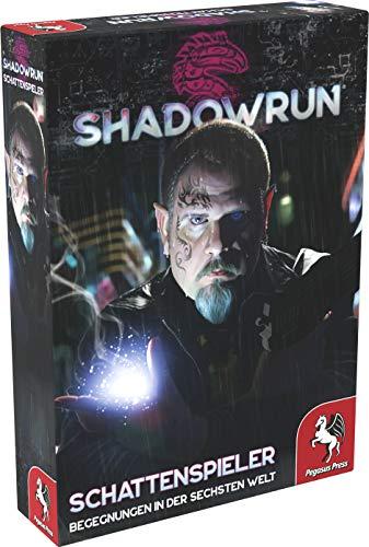 Pegasus Spiele 46120G - Shadowrun: Schattenspieler (Spielkarten-Set)
