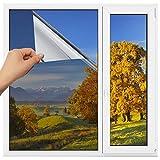 Homein One Way Mirror Window Film Heat Control Solar Reflective Windows Tint Anti-UV