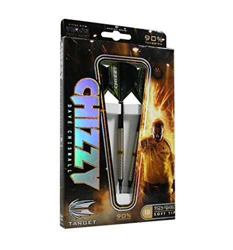 Target Darts Darts Dave Chisnall Pixel 18 g Soft Tip Darts, 18 g