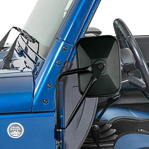 Doors off Mirrors Wrangler Mirrors Doors off Jeep Mirrors for All Wrangler Model YJ TJ JK JL...