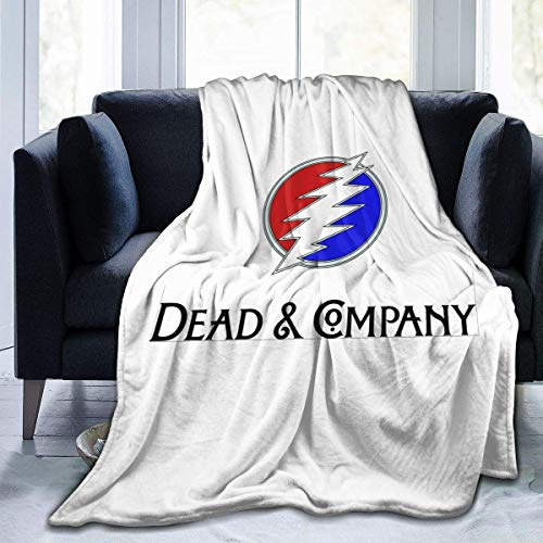 Ahdyr Manta Anti-Pilling de Franela John Mayer Dead Company Manta de Franela de Lujo Tres tamaños Manta de Microfibra de Terciopelo de Felpa para Todas Las Estaciones 80x60 Pulgadas