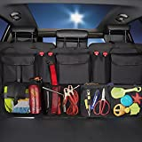 Car Trunk Organizer Hanging Seat Back Organizer SUV Minivan Vehicles Cargo Storage Bag Pocket Pouch with Lids Heavy Duty and Space-saving (style3)