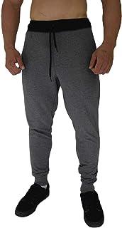 Calça Masculina Moletom Slim MXD Conceito Mescla Escuro Clássico