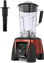 ESRW Maker Smoothie Blender, 2200W 2L Haute Vitesse Cuisine Blender sans BPA Tritan Pitcher 6 Titane Lames en Acier Inoxyd...