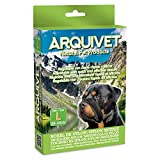 Arquivet Bozal Nylon Talla L con Lazo Acolchado para Perros - Paseo, adiestramiento y protección - Color Negro - para Perros medianos y Grandes - Accesorios caninos