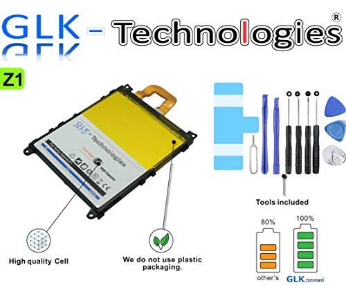 !GRATIS BLITZVERSAND! -30% NUR Kurze Zeit !! Original GLK-Technologies® | Akku passend für Sony Xperia Z1 | LIS1525ERPC Ersatzakku | 3200mAh | 2 Jahre Garantie 2020 B.j! (Z1)