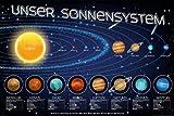 Educational - Bildung - Unser Sonnensystem - Poster -