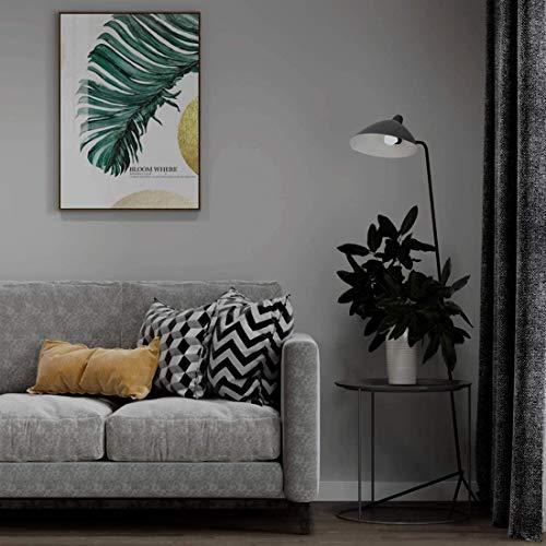 KINLO Möbelfolie Verdickung PVC 5x0.6M Matt hellgrau selbstklebend Möbel verschönen ohne Glanz Dekofolie Wasserdicht Stickerfolie für Schrank