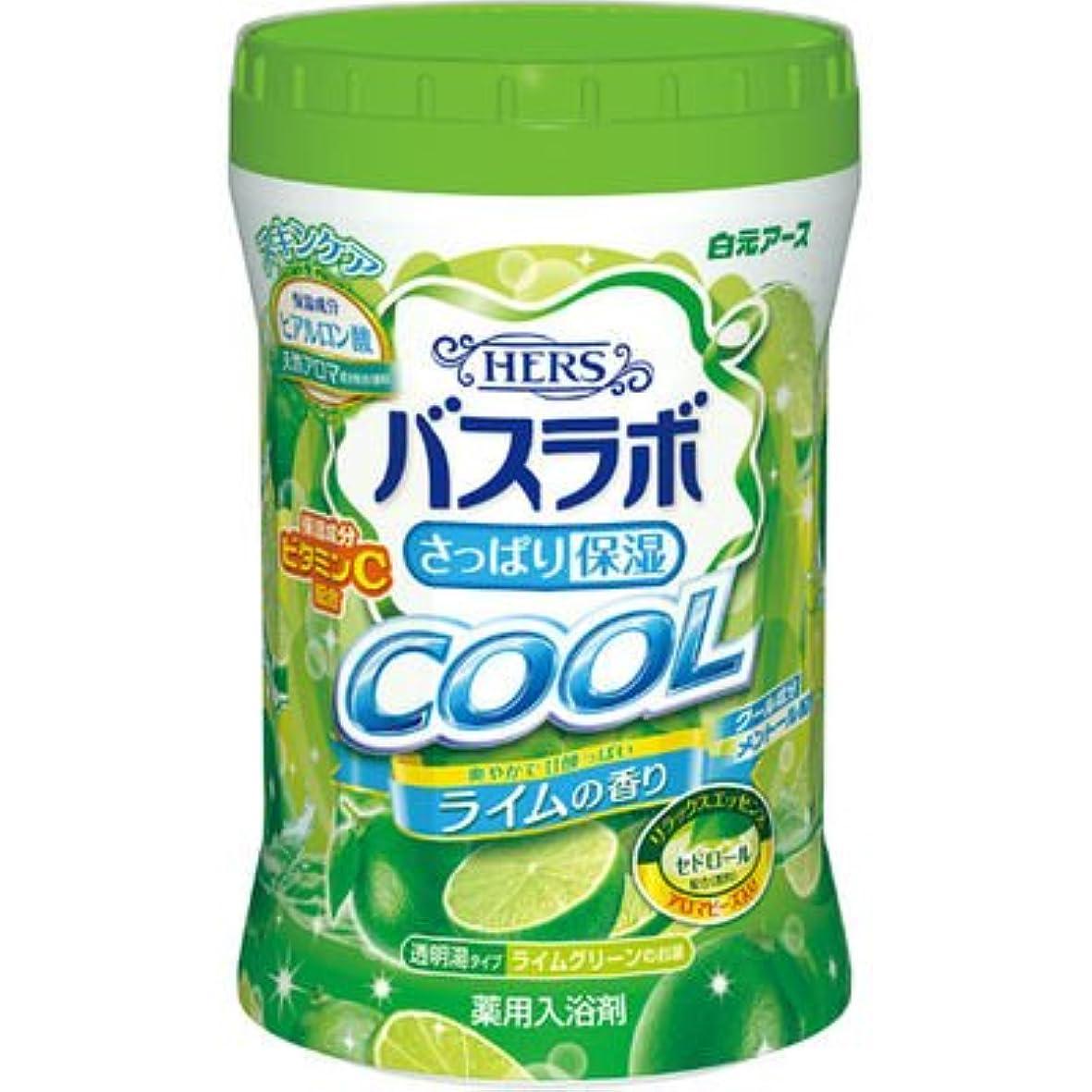 反対に罰する接続白元アース HERSバスラボ さっぱり保湿 COOL ライムの香り 640g E537344H